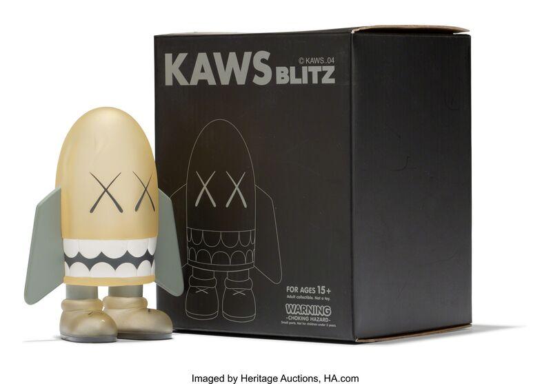 KAWS, 'Blitz (Grey)', 2004, Sculpture, Painted cast vinyl, Heritage Auctions