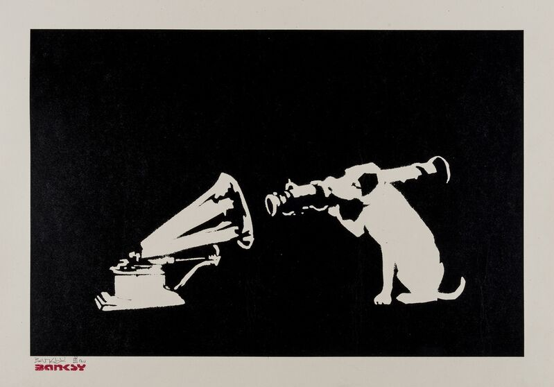 Banksy, 'HMV', 2004, Print, Screenprint in colours, Forum Auctions