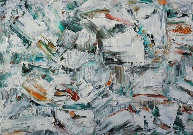 Paul-Émile Borduas, 'Untitled', 1954-1955, Painting, Oil, Galerie Claude Lafitte