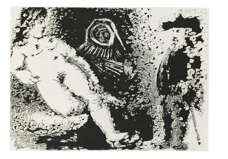Pablo Picasso, 'Fernando de Rojas: La Célestine', 1971, Print, The complete book comprising 66 etchings and aquatints on Richard de Bas laid paper, Christie's