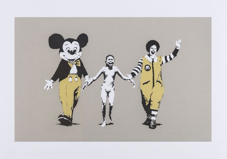 Banksy, 'Napalm', 2004, Print, Screenprint in colours, Forum Auctions