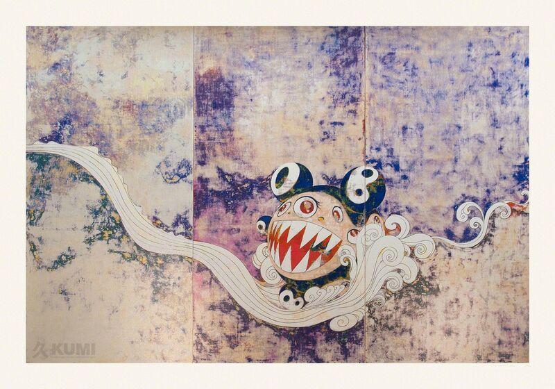 Takashi Murakami, '727', 2016, Print, Silkscreen, Kumi Contemporary / Verso Contemporary
