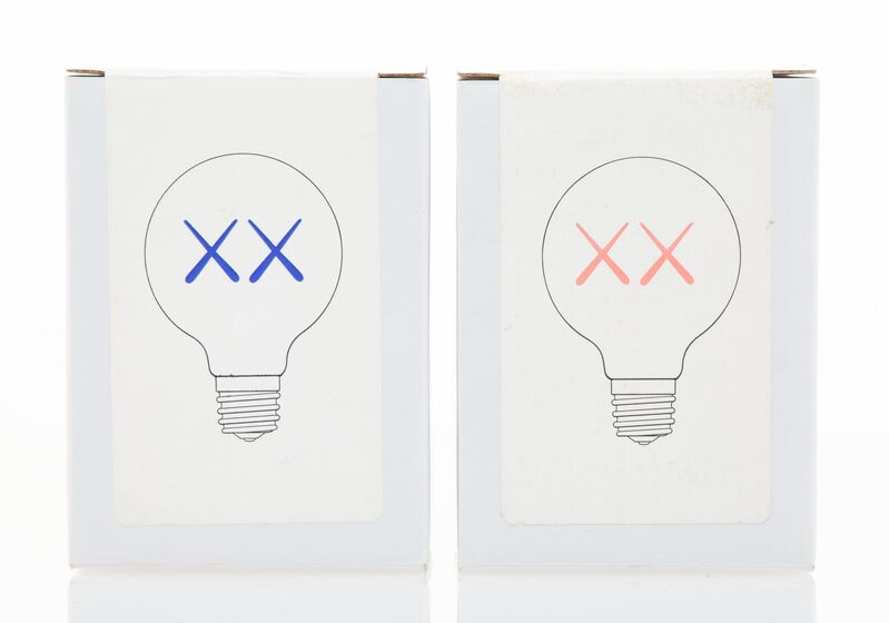 KAWS, 'Light Bulbs for The Standard (Red and Purple), (two works)', 2011, Other, Light Bulb, Heritage Auctions