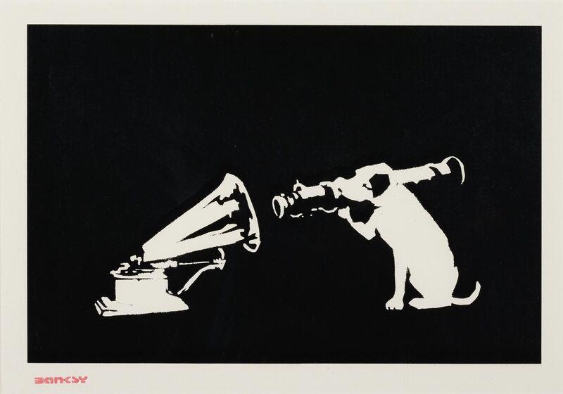 Banksy, 'HMV', 2004, Print, Screenprint on wove paper., HOFA Gallery (House of Fine Art)