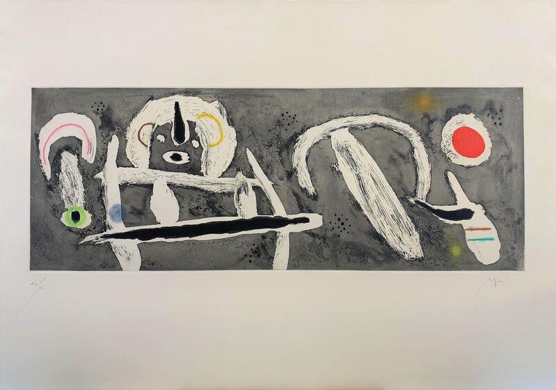 Joan Miró, 'Grand Vent', 1960, Print, Etching and aquatint, Galerie Raphael