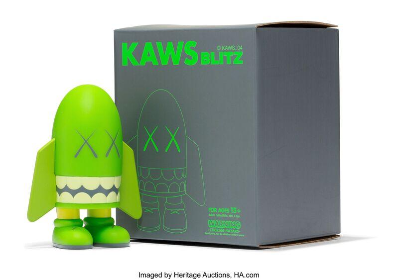 KAWS, 'Blitz (Green)', 2004, Sculpture, Painted cast vinyl, Heritage Auctions