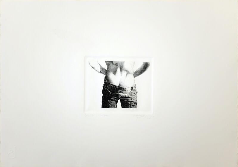 Miguel Angel Rojas, 'PELITO', 1974, Print, Etching, espaivisor - Galería Visor