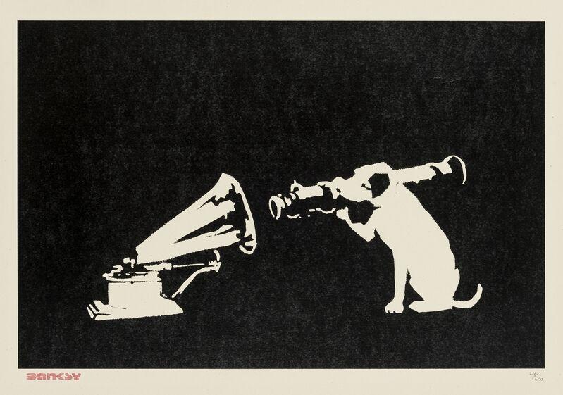Banksy, 'HMV', 2004, Print, Screenprint in black, Forum Auctions