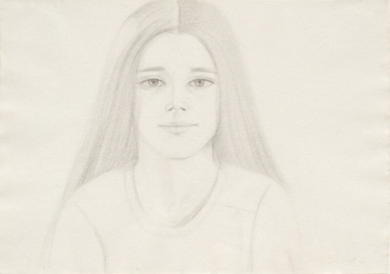Alex Katz, 'Sydney', 1975, Drawing, Collage or other Work on Paper, Pencil on paper, Masterworks Fine Art