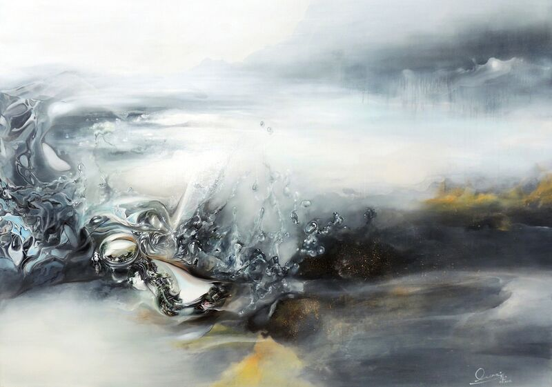 Ocean Wang, 'Unfamiliar Fragrance', 2015, Painting, Oil, Acrylic and Tempera on Canvas, Y2ARTS
