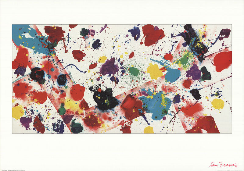Sam Francis, 'Untitled, 1982', 1993, Posters, Offset Lithograph, ArtWise