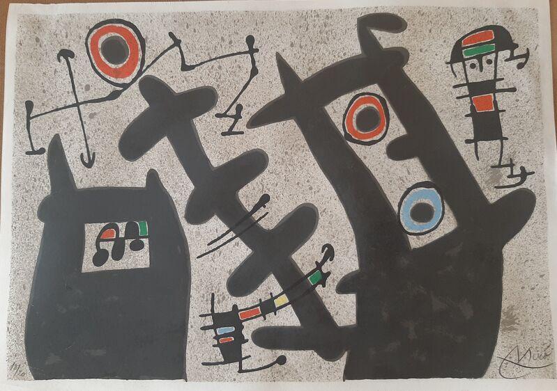 Joan Miró, 'Le Lezard Aux Plumes d´Or', 1971, Print, Galeria Cortina