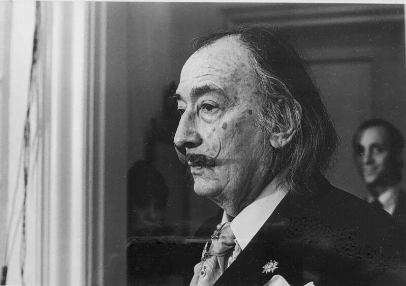 Jimmy DeSana, 'Salvador Dali', 1979, Photography, Black and white print, Gallery 52