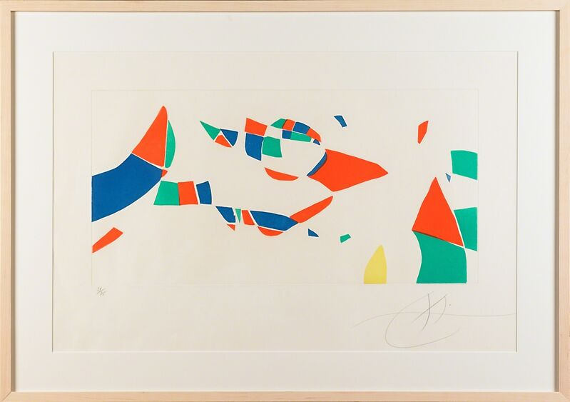 Joan Miró, 'Homage to Pierre Matisse from Etchings for an Exhibition', 1973, Print, Aquatint, Rago/Wright