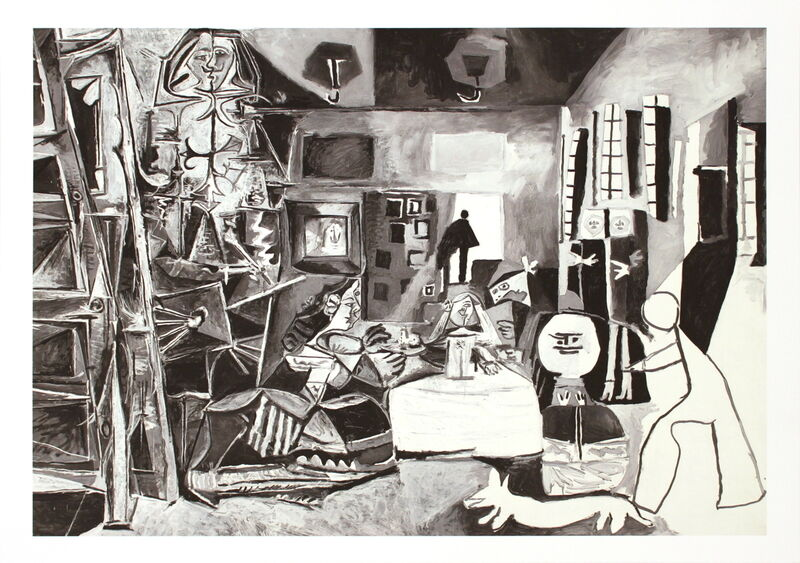 Pablo Picasso, 'Las Meninas', (Date unknown), Reproduction, Stone Lithograph, ArtWise