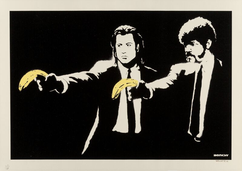 Banksy, 'Pulp Fiction', 2003, Print, Screenprint in colors on paper, Heritage Auctions