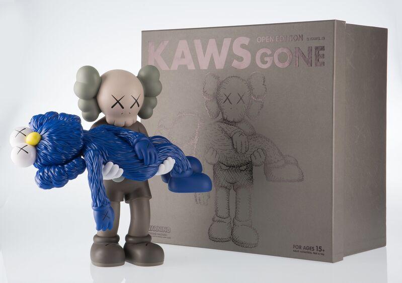 KAWS, 'Gone (Brown)', 2019, Sculpture, Painted cast vinyl, Heritage Auctions