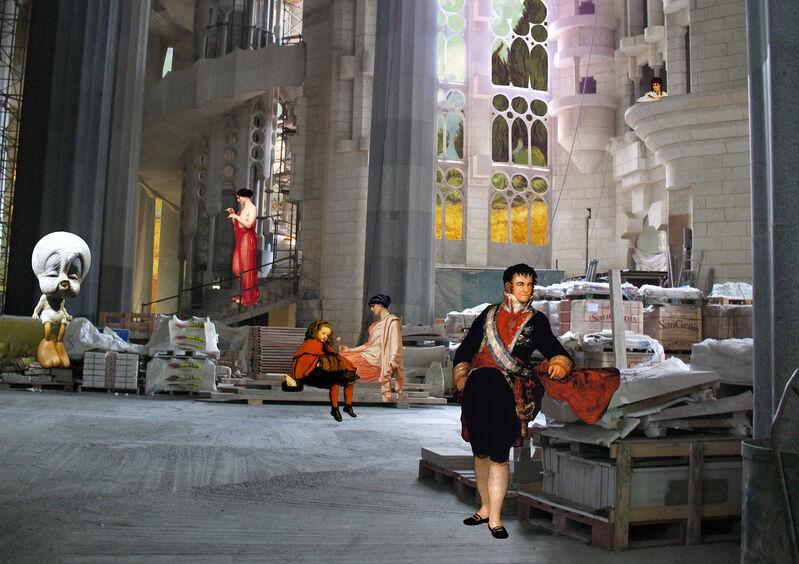 Artemis Potamianou, 'Re-view series: Lonely Tweety', 2012, Print, C-Print on Plexiglass, IFAC Arts