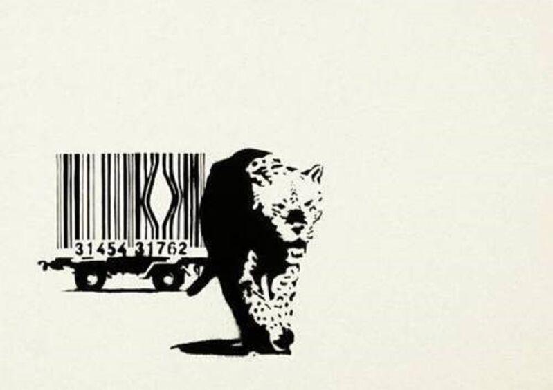 Banksy, 'Bar Code', 2004, Print, Screenprint in colors, Robin Rile Fine Art