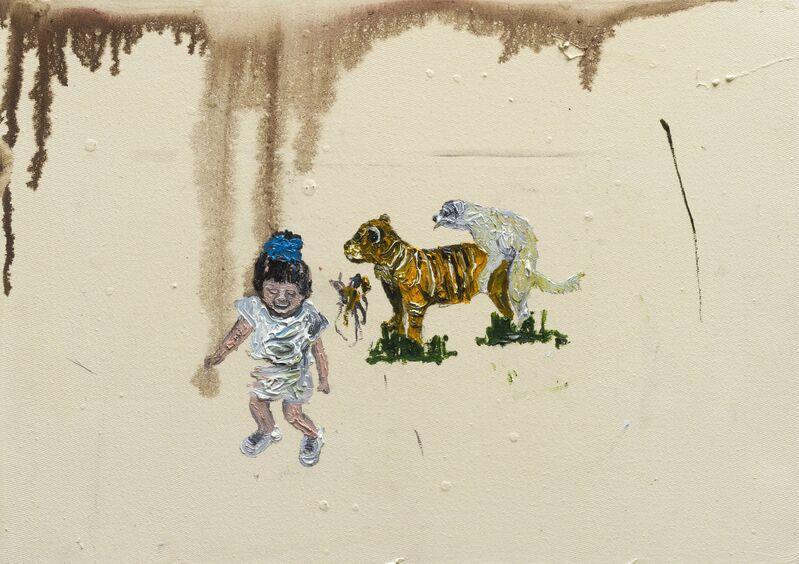Camila Soato, 'Experiência polissistêmica№14', 2013, Painting, Oil on canvas, Zipper Galeria