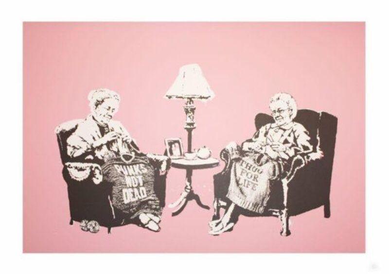Banksy, 'Grannies', 2006, Print, Screen print on paper, ArtLife Gallery