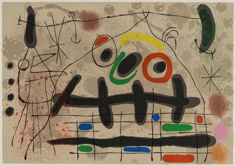 Joan Miró, 'Le Lézard Aux Plumes D'or (M.461)', 1967, Print, Lithograph printed in colours, Forum Auctions