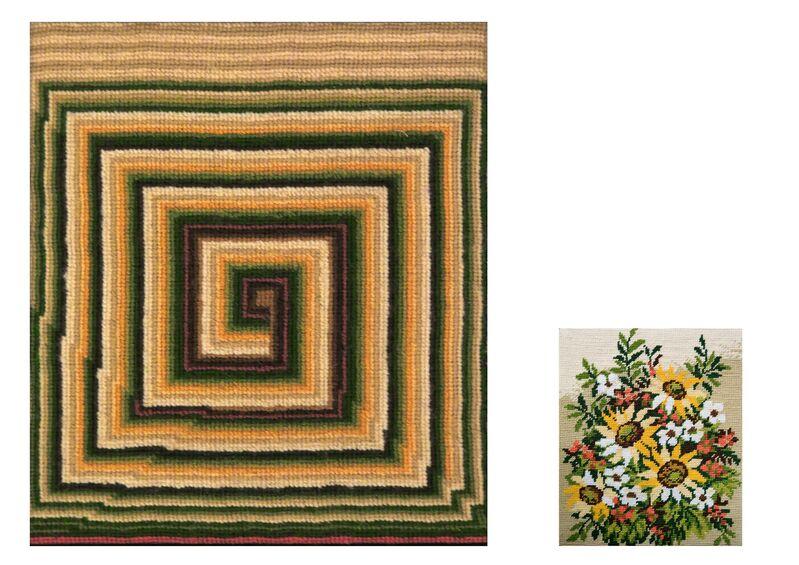Andrea Canepa, 2014, Cross stitch embroidery, Wu Galeria