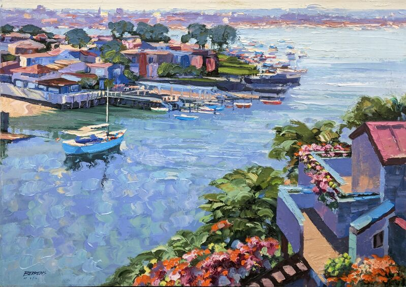 Howard Behrens, 'BALBOA POINT (EMBELLISHED)', 1990, Print, HAND EMBELLISHED GICLEE ON CANVAS, Gallery Art
