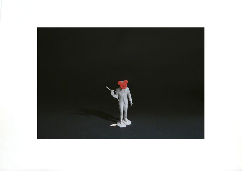 Liliana Porter, 'Man / Mickey', 2009, Print, Photoetching, Galería La Caja Negra