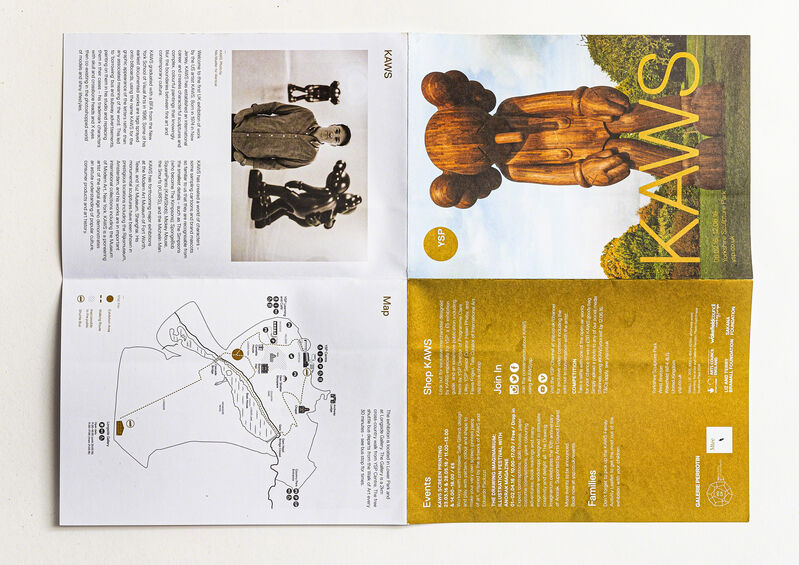 KAWS, 'Two works', Other, Brochure and Invitation, DIGARD AUCTION