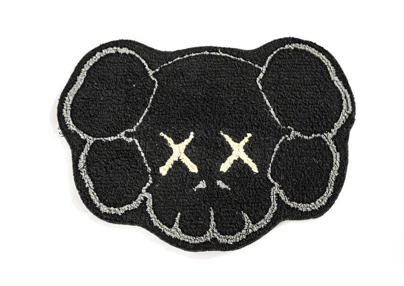 KAWS, 'COMPANION HEAD BATH MAT (Black)', 2008, Textile Arts, Polyester mat, DIGARD AUCTION