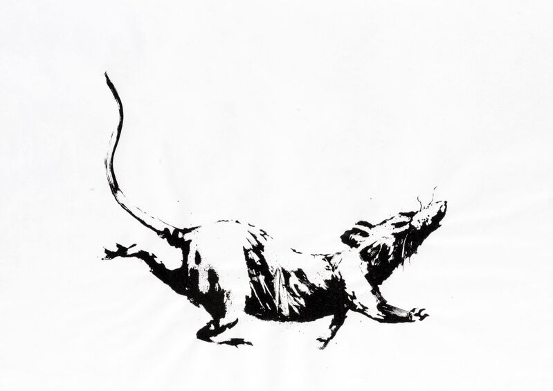 Banksy, 'GDP Rat', 2019, Print, Screenprint on 50gsm paper, Area Consulting