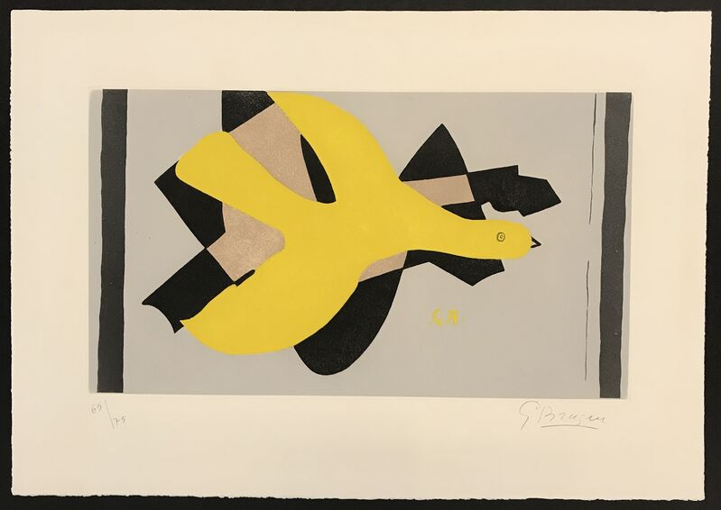 Georges Braque, 'L'Oiseau et Son Ombre II (Bird and its Shadow II)', 1961, Print, Etching, Aquatint, Denis Bloch Fine Art