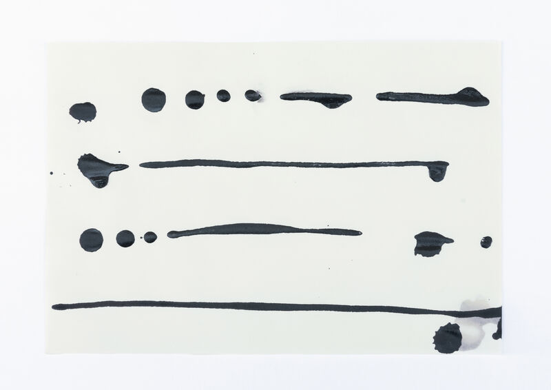 Amanda Millet-Sorsa, 'Movements in Winter', 2020, Drawing, Collage or other Work on Paper, Oak gall, honey, gum arabica, iron rust water ink on paper, SHIM Art Network