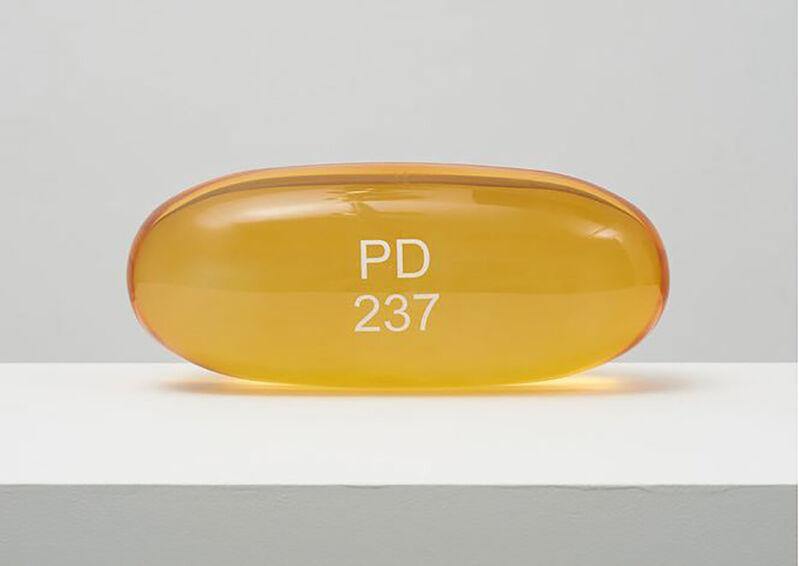 Damien Hirst, 'Zarontin PD 237 ', 2014, Sculpture, Polyurethane resin with ink pigment, DTR Modern Galleries