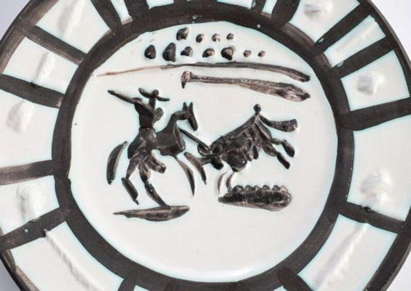 Pablo Picasso, 'Picador Plate', 1954, Sculpture, Ceramic, Modern Artifact