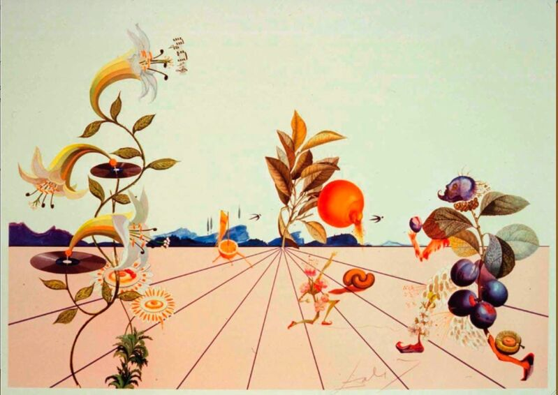 Salvador Dalí, 'Flordali I', 2018, Sculpture, Lithographie, Bel-Air Fine Art