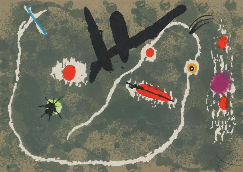 Joan Miró, 'Le Lézard aux Plumes d'or', 1971, Print, Lithograph, Galerie Raphael