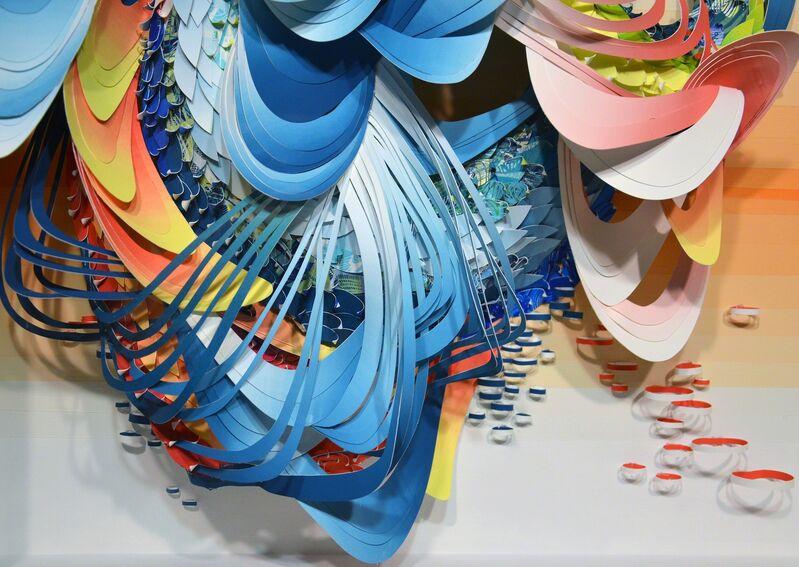 Crystal Wagner, 'Spectrum: Bio Interloper II', 2014, Drawing, Collage or other Work on Paper, Spectrum: Bio Interloper II, Hashimoto Contemporary