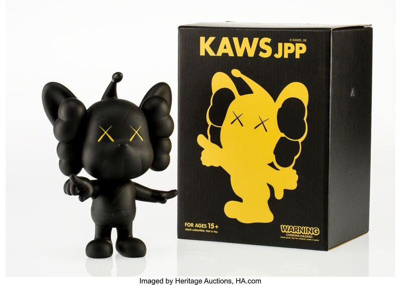 KAWS, 'JPP (Black)', 2008, Other, Painted cast vinyl, Heritage Auctions