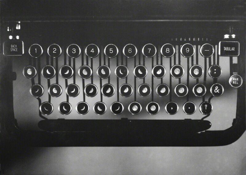 Leandro Katz, 'Lunar Typewriter', 1979/2011, Photography, Lambda print, Henrique Faria Fine Art