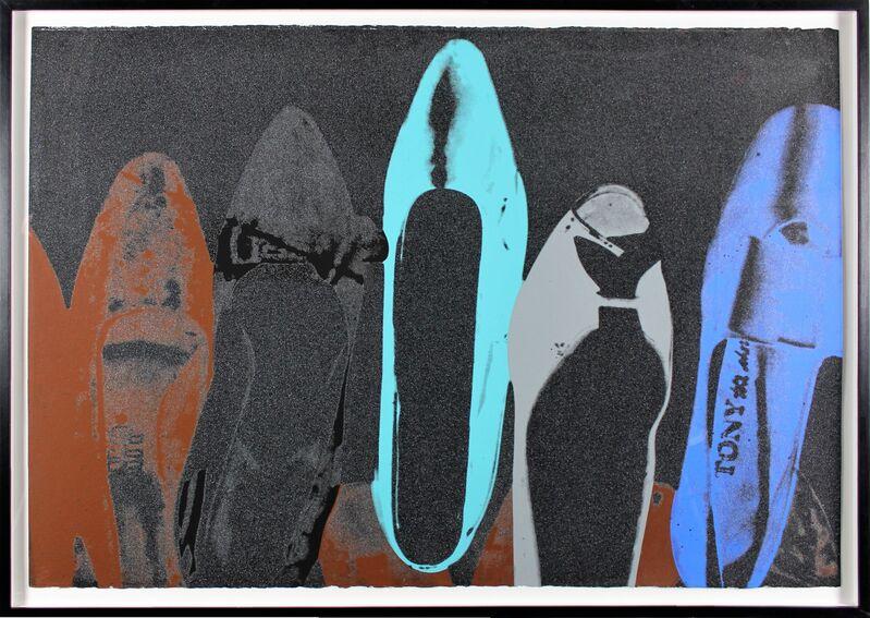 Andy Warhol, 'Diamond Dust Shoe 257 ', 1980, Print, Screenprint with Diamond Dust on paper, Tanya Baxter Contemporary