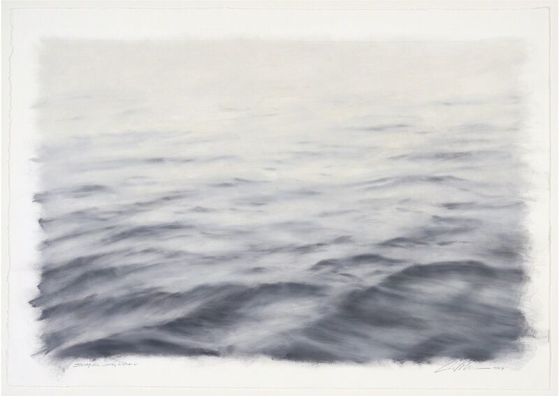 Clifford Smith, 'Study for Gray Calm V', 2009, Painting, Oil on Paper, Gerald Peters Gallery