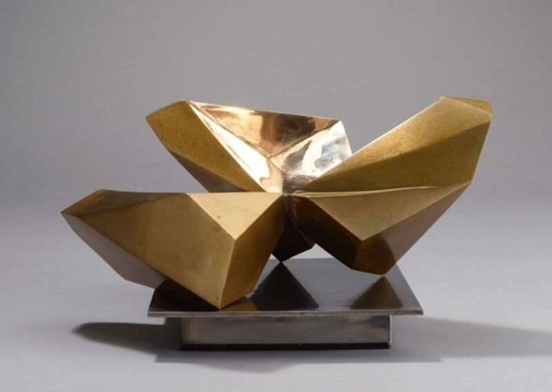 Jud Bergeron, 'Leaves', 2014, Sculpture, Cast bronze and stainless steel, K. Imperial Fine Art
