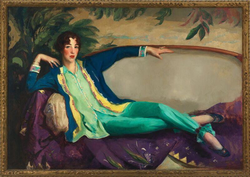 Robert Henri, 'Gertrude Vanderbilt Whitney', 1916, Painting, Oil on canvas, Whitney Museum of American Art