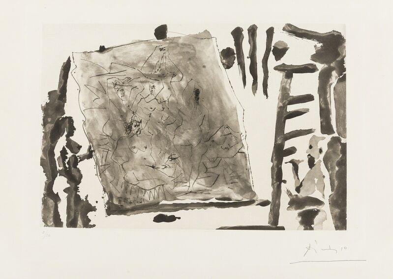 Pablo Picasso, 'Dans L'Atelier (Bloch 1216)', 1965, Print, Aquatint with drypoint, Forum Auctions