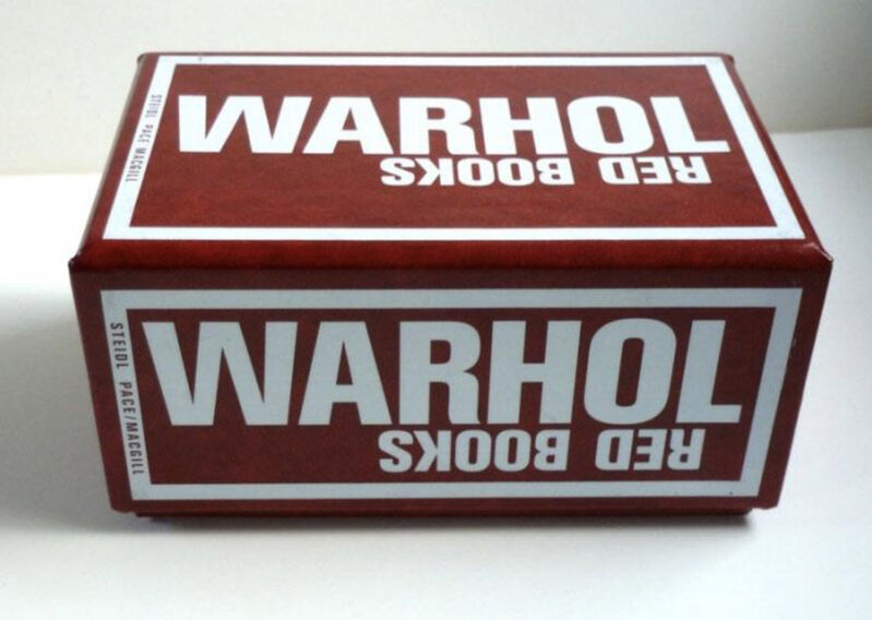Andy Warhol, 'Red Books', 2004, Books and Portfolios, Lithographic printing, plastic spiral-bound booklets, Gallery 52