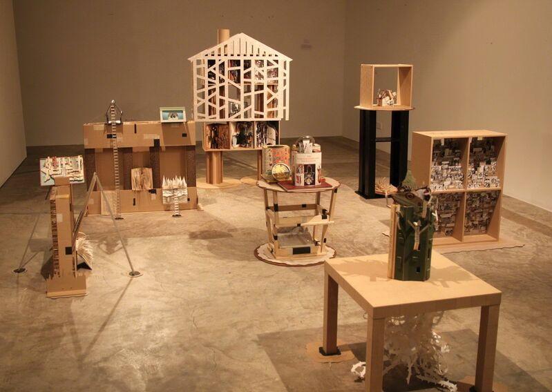 Haslin Ismail, 'Book Land', 2013, Mixed Media, Mixed media, G13 Gallery