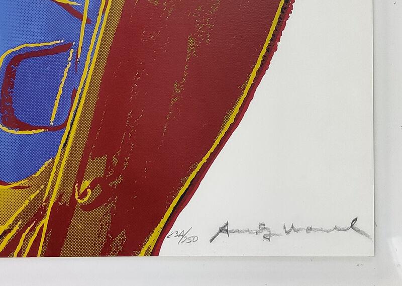 Andy Warhol, 'Northwest Coast Mask FS II.380', 1986, Print, Screen print, Gallery Art Gallery Auction