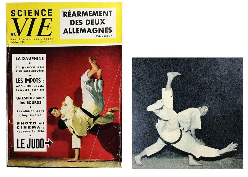 "Yves Klein, '""JUDO"", 1956, Author: Yves Klein, Paris Science Et Vie, Paperback Magazine, RARE First Edition.', 1956, Ephemera or Merchandise, Lithograph on paper, VINCE fine arts/ephemera"